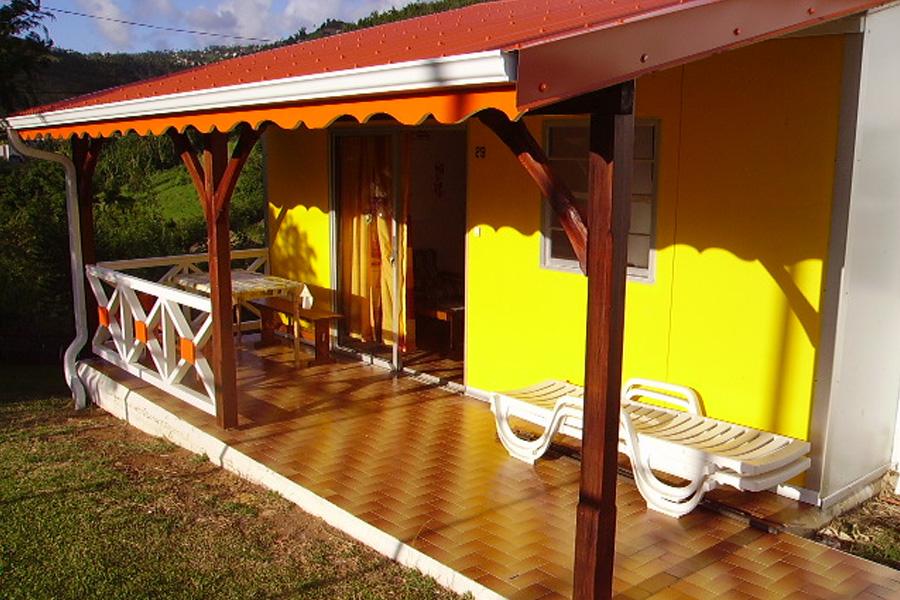 Bungalow 2 à 4 personnes en Martinique
